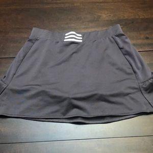 Adidas grey skort.  Size 6.